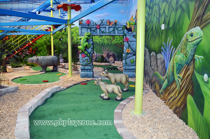 Celebrate birthday parties by playing indoor golf