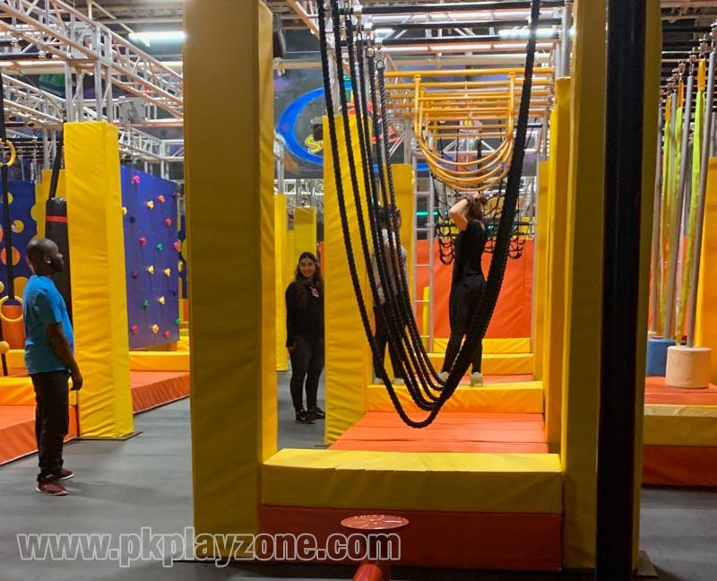 Ninja Obstacles and Toddler Zone
