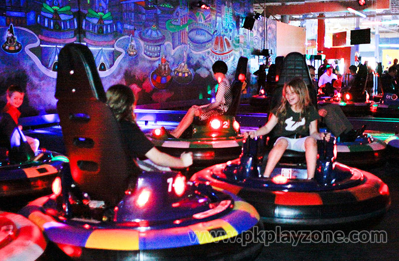 Celebrate birthday parties by playing Spin Zone