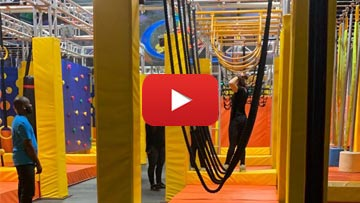 Ninja Obstacles and Toddler Zone - PkPlayzone.com